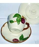 VINTAGE FRANCISCAN APPLE CUP & SAUCER 1958 ... - $13.66