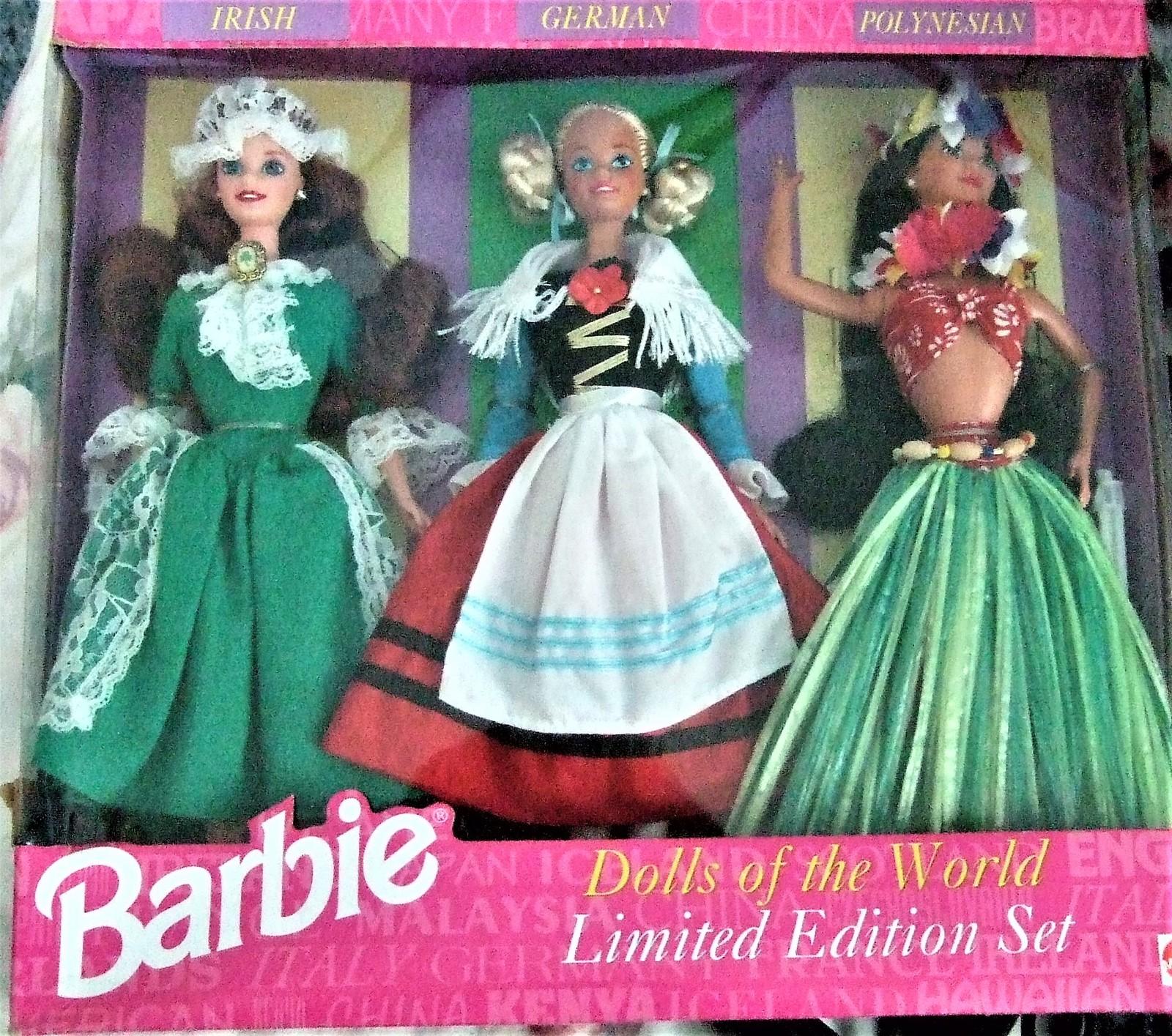 Barbie Dolls - 1994 Dolls of the World Gift Set (3 Dolls) Limited Edition Set