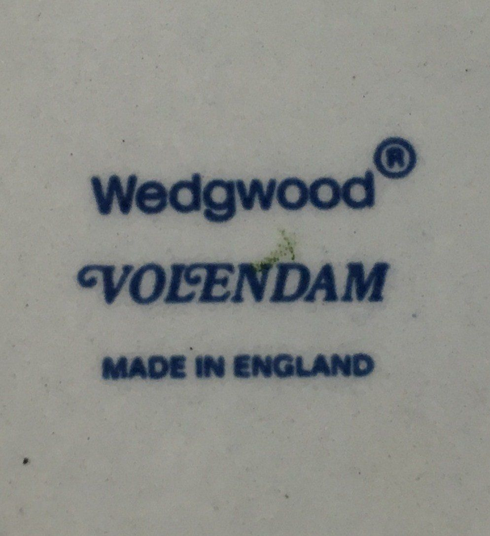 Wedgwood Volendam Sugar bowl - base only image 2