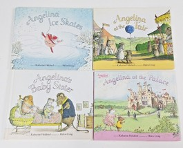 Angelina Ballerina Children's Books Lot Of 4 By Katharine Holabird LN - $29.97
