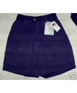 NWT Woolrich Shorts Outdoorwear Blue Cotton Car... - $17.42