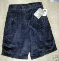NWT Woolrich Shorts Outdoorwear Navy Blue Corderoy 10 inch inseam STYLE 1660 ANV - $17.42