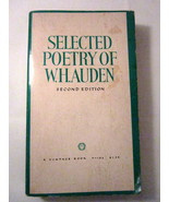 Selected Poetry of W H Auden 1971 Wystan Hugh Auden - $4.00
