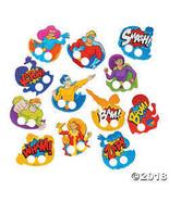 Super Hero Cardboard Finger Puppets - 72 pcs - $8.71