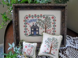 Summer cross stitch chart From The Heart  - $7.20