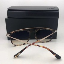New PERSOL Sunglasses 3173-S 1057/32 54-19 145 Havana Brown Frame w/ Grey Fade - $399.98