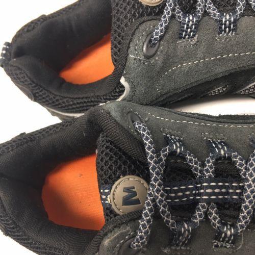 Merrell Mens Low Ventilator Hiking Trail Shoes Black Wild Dove Size 9 M