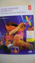 Adobe Premiere Elements 9 Brand New Sealed for Windows & MAC - $86.62