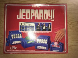 Vintage Collectible Electronic Jeopardy Board Game 1987 Family Game Night - $29.65
