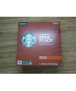 Starbucks Pike Place 32 Pieces Medium Roast Ground Coffee Pods - $23.70