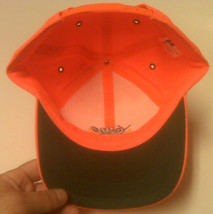 NEW - HUNTING CAP - ORANGE HUNTING CAP  - BUCK MASTERS - YOUTH SIZE - $8.99