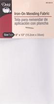 "Dritz Iron-On Mending Fabric-White 6""X13"" - $7.39"