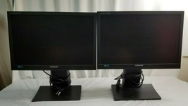 "Pair SAMSUNG SyncMaster SA450 19"" Displays / Monitors w Stands - Working - $191.95"