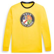Mens Polo Ralph Lauren Long Sleeve Yellow T Shirt Size XL - $68.60
