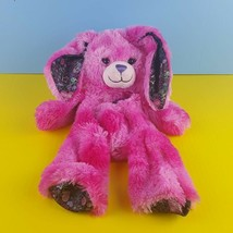 Unstuffed Build A Bear Plush Bunny Rabbit Friends Forever Peace Hot Pink... - $20.05