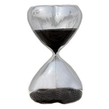George Jimmy 15 Minute Heart Shape Countdown Timer Hourglass Sand Clock ... - $27.05