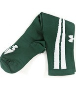 Under Armour Youth Soccer Socks Medium Green White Knee High 1 Pair (sks... - $8.75