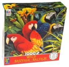 Ceaco Wild Majestic Macaws Jigsaw Puzzle 1000 Piece 19x27 Made USA 3393-... - $17.79