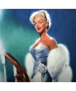 MARILYN MONROE 1992 BRADFORD 9th ISSUE PLATE-ALL ABOUT EVE - $140.25