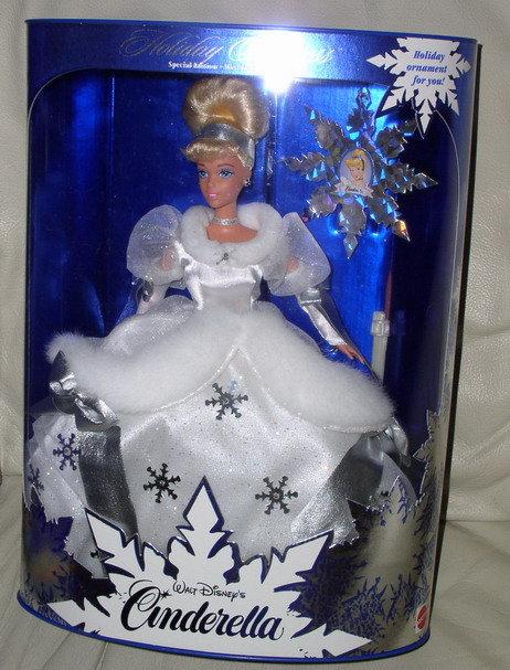 Disney Cinderella Winter Special Edition Doll Free Ship