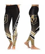 VEGAS GOLDEN KNIGHTS Leggings  - Higher Quality -  NHL Fan Gear Gift Idea - $35.00
