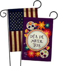Celebrate Dia de Muertos - Impressions Decorative USA Vintage Applique Garden Fl - $30.97