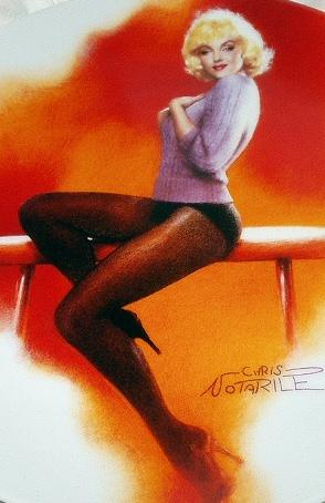 1992-MARILYN MONROE-MY HEART BELONGS TO DADDY-#7 BRADFORD CO