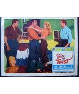 CHUBBY CHECKER (DONT KNOCK THE TWIST) AUTOGRAPH ORIG,1962 LOBBY CARD - $399.99