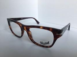 New Persol 3070-V 24 Film Noir Edition Tortoise 52mm Men's Eyeglasses Frame - $179.99