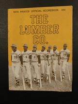 #1079----1976 Pirates - Padres program scored - Winfield HR - Bill Robin... - $12.00