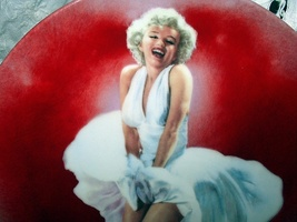 RARE-1st BRADFORD ISSUE-MARILYN MONROE 1989 SEVEN YEAR ITCH PLATE - $186.00
