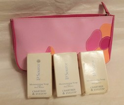 CRABTREE & EVELYN SOAP LA SOURCE w SHEA BUTTER TRAVEL SIZE BAR SOAP NEW ... - $12.86