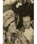 1930s Gala Event Photo Smoking Myrna Loy David Nivens K358 - $9.99