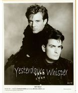 1990's Publicity Photo Charlie Sheen Michael Bi... - $9.99