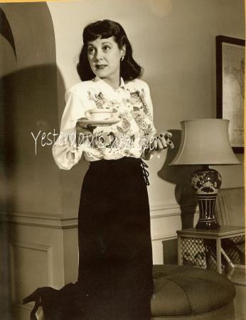 Patricia Dunlap Today's Women radio show c1953 Photo