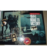 WWII REMEMBERED 1944:ROAD TO VICTORY BOOK - $25.00