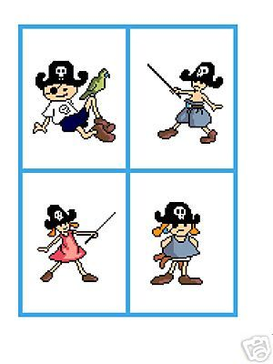 Pirate Kids Crochet Graph Afghan Patterns