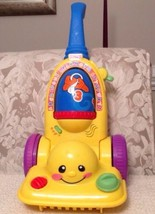 Fisher Price Laugh and Learn Learning Vacuum Cleaner - K7164, Popular! - $12.38