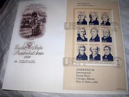Fdc Us Presidential SERIES-PART I,Pioneers Westward Expansio - $28.00