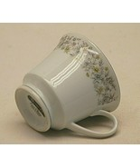 Elegance Dynasty China Footed Tea Coffee Cup Blue Gray Green & Lavender ... - $12.86