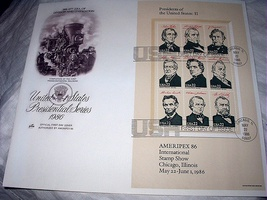 Fdc Us Presidential SERIES-PART 2,Division&Unification R - $28.00