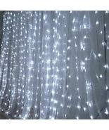 LED Lights Organza Backdrop White YSefa - $221.37