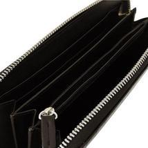 Calvin Klein Ck Leather Organizer Coin Zip Around Rfid Wallet Purse Brown 79511 image 4