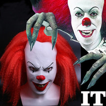 Red Stephen King's It Clown Pennywise  Adult Halloween Horrible Cosplay Mask - $37.99