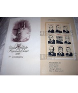 FDC US PRESIDENTIAL SERIES-PART 4,THE SPACE AGE - $30.00