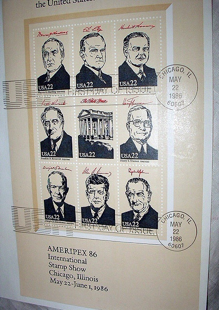 FDC US PRESIDENTIAL SERIES-PART 4,THE SPACE AGE