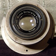 Kodak Enlarging Ektar 65mm in Metal Mount 1947 ... - $50.00