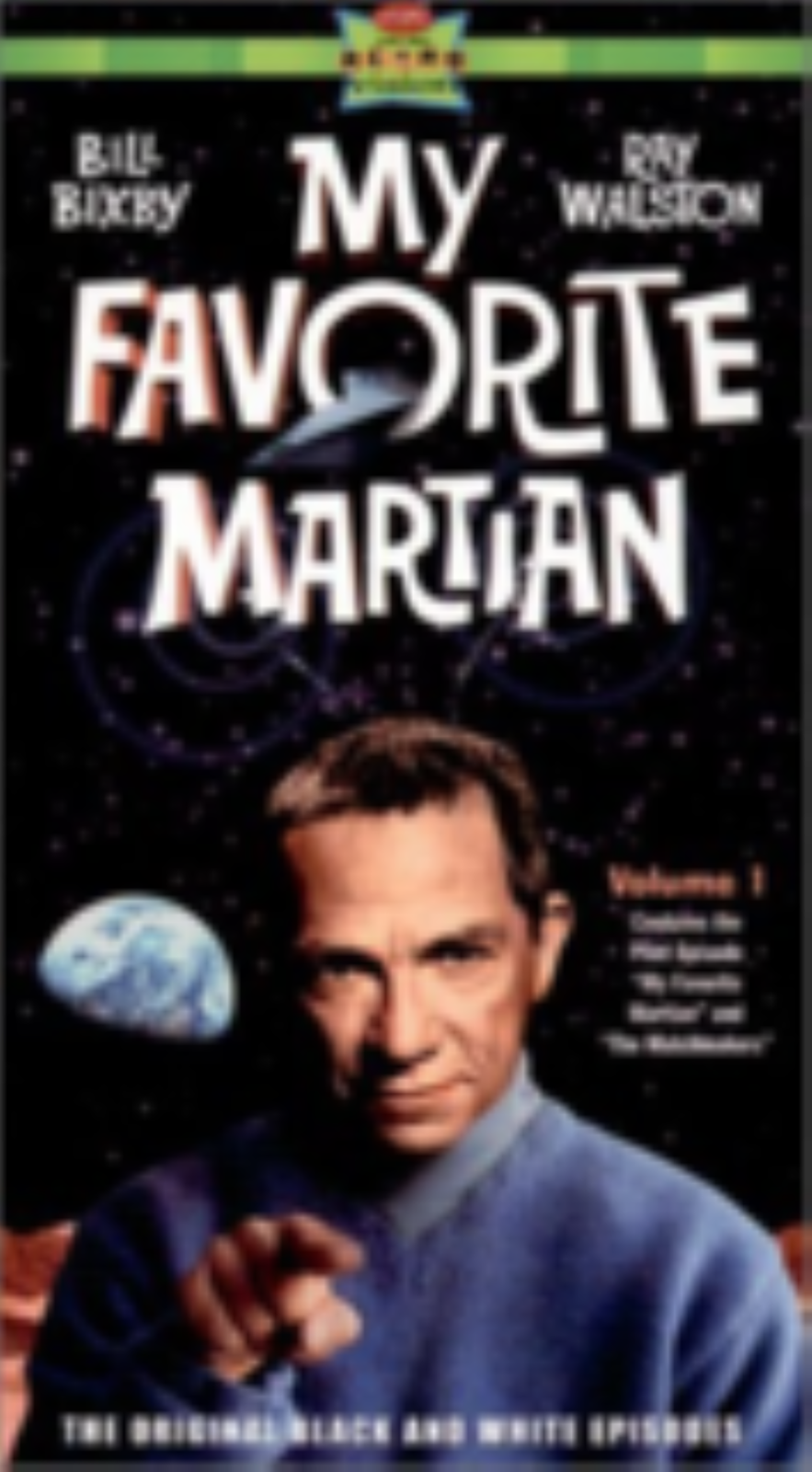 My Favorite Martian 1 Vhs