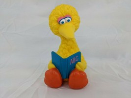 "Playskool Sesame Street Big Bird Squeak Figure 5"" 1992 - $8.95"