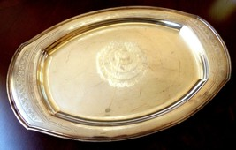 "VTG Community Silver Plated metal  Serving Tray Platter 18.5"" x 12"" - $51.48"